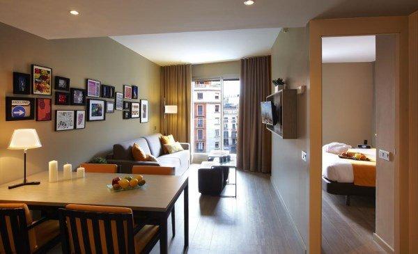 Citadines Ramblas Barcelona, appartamenti Barcellona per 4 persone