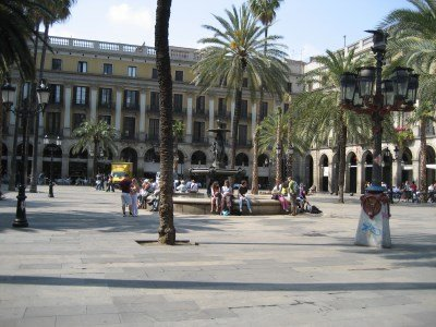 Plaza Real, Barcellona